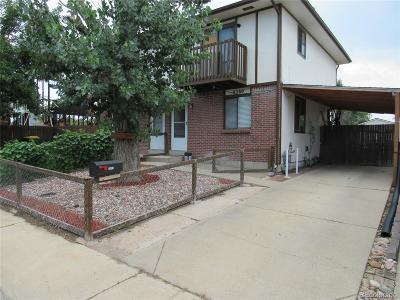 Commerce City Condo/Townhouse Under Contract: 6380 East 78th Avenue