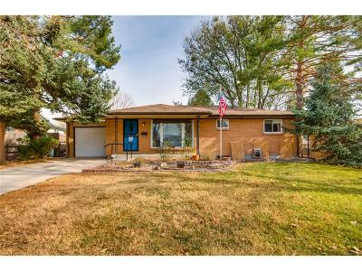 Westminster Single Family Home Active: 7080 Beach Street