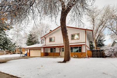 Arvada CO Single Family Home Active: $465,000