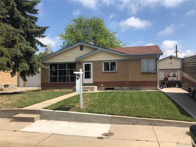 Northglenn Single Family Home Active: 10850 Carrol Lane