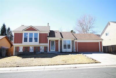 Centennial Single Family Home Under Contract: 5987 South Odessa Circle