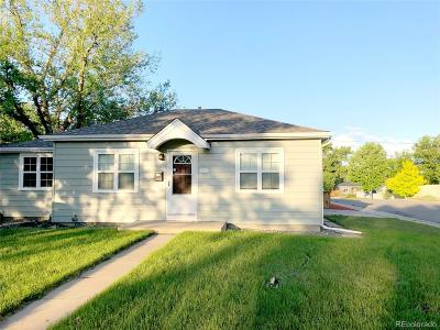 Denver Single Family Home Active: 5100 Clay Street