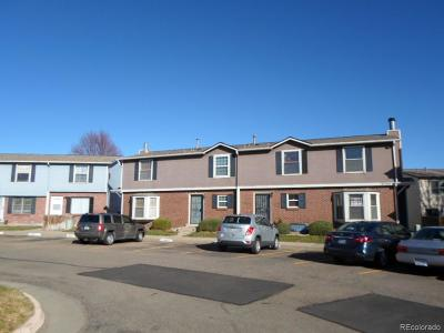 Aurora Condo/Townhouse Active: 16485 East 17th Place #D