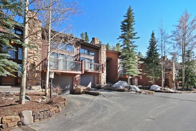 Summit County Condo/Townhouse Sold: 296 Broken Lance Drive