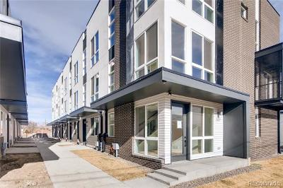 Sloan's Lake Condo/Townhouse Under Contract: 3029 West 19th Avenue