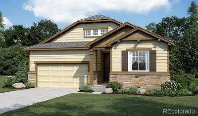 Castle Rock Single Family Home Under Contract: 5750 Flat Rock Court