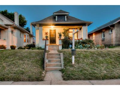 Denver Single Family Home Active: 3134 North Gaylord Street