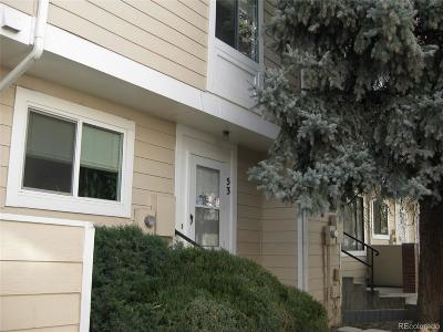 Arvada Condo/Townhouse Under Contract: 6625 West 84th Circle #53