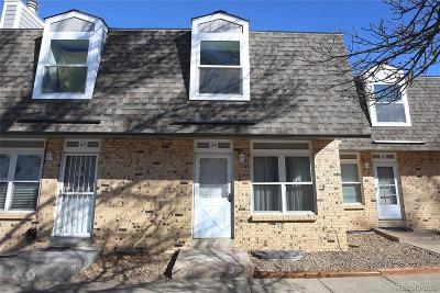 Lakewood Condo/Townhouse Under Contract: 1474 South Pierson Street #64