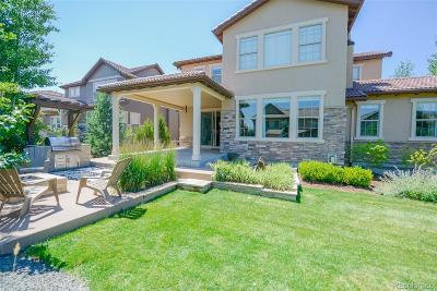 Highlands Ranch Single Family Home Active: 10654 Sundial Rim Road