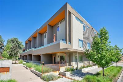 Baker, Baker/Santa Fe, Broadway Terrace, Byers, Santa Fe Arts District Condo/Townhouse Active: 44 Galapago Street