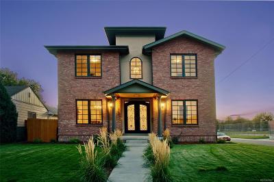Denver CO Single Family Home Active: $1,540,900