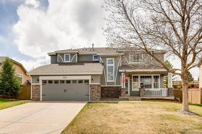 Castle Rock Single Family Home Under Contract: 5075 Buttercup Drive