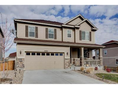 Castle Rock Single Family Home Active: 7575 Blue Water Drive
