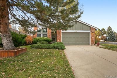 Centennial CO Single Family Home Under Contract: $445,000