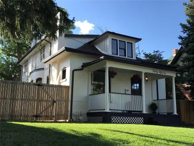 Denver Single Family Home Active: 3051 Perry Street
