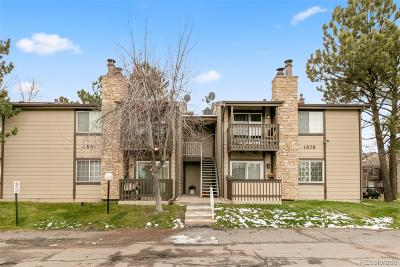 Aurora Condo/Townhouse Active: 1881 South Pitkin Street #A