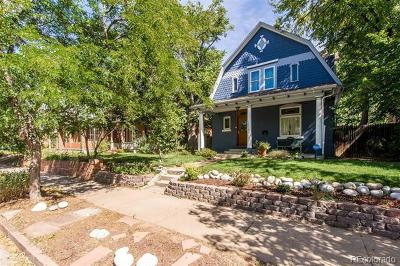 Denver Single Family Home Active: 1036 South Pearl Street