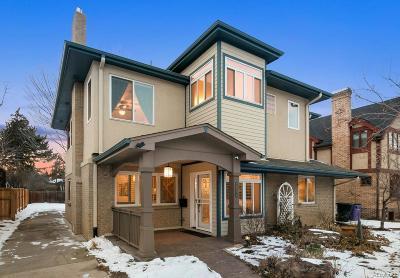 Denver Single Family Home Under Contract: 719 Ivanhoe Street