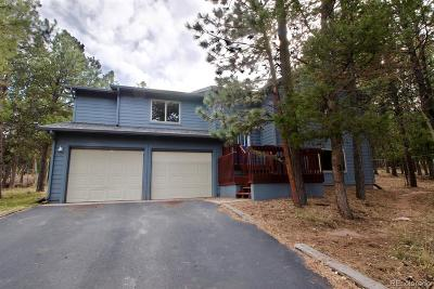 Woodland Park Single Family Home Under Contract: 1317 Evergreen Heights Drive