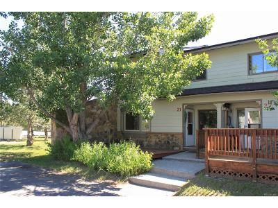Steamboat Springs Condo/Townhouse Under Contract: 21 Cedar Court