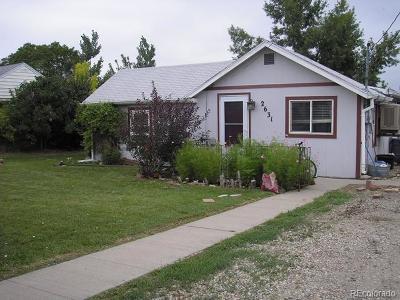 Denver Single Family Home Active: 2631 West Bates Avenue