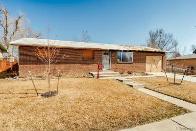 Longmont Single Family Home Under Contract: 1808 Queens Drive