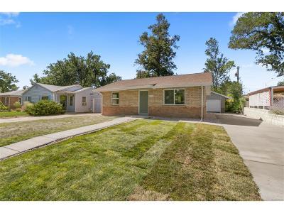 Lakewood CO Single Family Home Active: $300,000