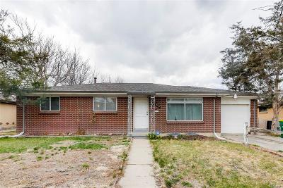 Aurora Single Family Home Under Contract: 3149 Wheeling Street