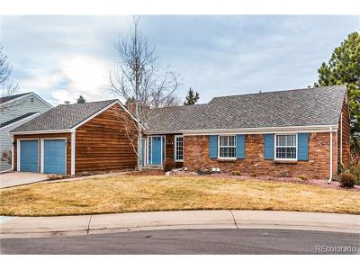 Centennial Single Family Home Active: 7259 East Costilla Drive