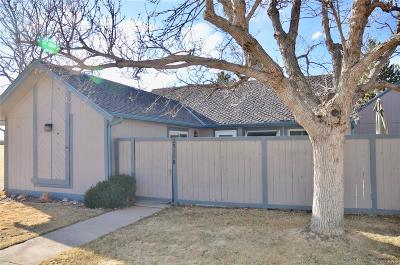 Aurora Condo/Townhouse Under Contract: 2511 South Worchester Court #B