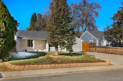 Denver Single Family Home Active: 4975 Clay Street