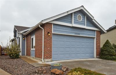 Arvada Single Family Home Under Contract: 10405 West 85th Place