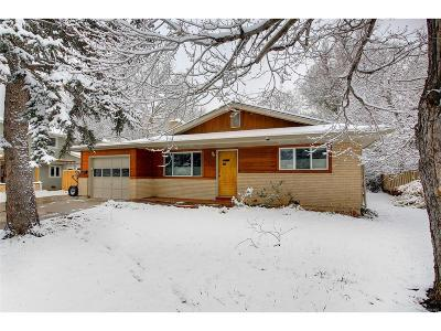 Boulder Single Family Home Under Contract: 2965 13th
