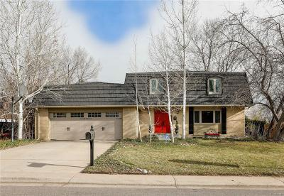 Littleton Single Family Home Active: 7270 South Sheridan Court