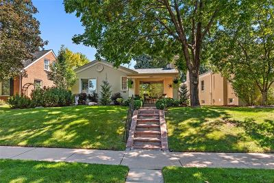Denver Single Family Home Under Contract: 1044 South Clayton Way
