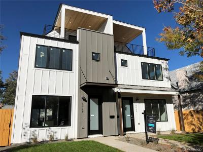 Denver Condo/Townhouse Active: 4521 Raleigh Street