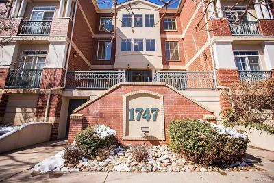 Denver Condo/Townhouse Active: 1747 Washington Street #B107