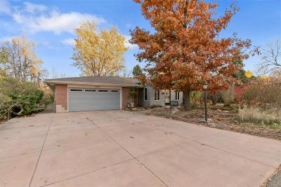 Wheat Ridge Single Family Home Under Contract: 3920 Garland Street