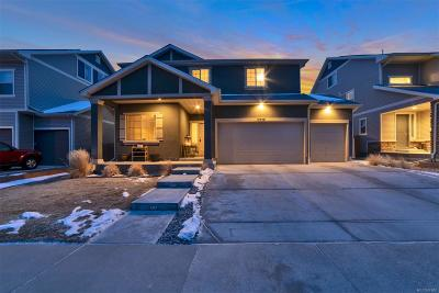 Commerce City Single Family Home Active: 10739 Worchester Way
