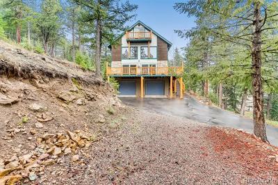 Evergreen Single Family Home Active: 344 Beaver Brook Canyon Road