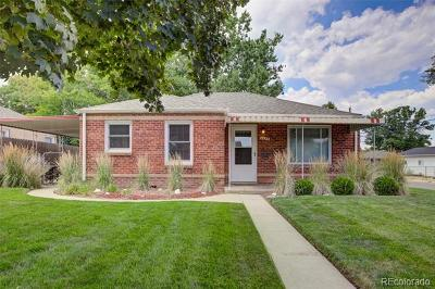 Denver CO Single Family Home Active: $465,000