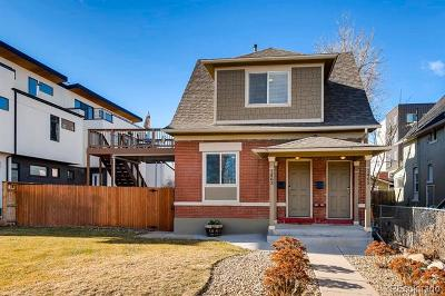 Denver Single Family Home Active: 1463 North Yates Street