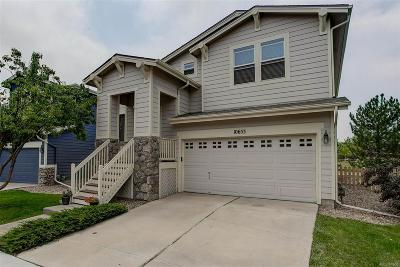 Highlands Ranch Single Family Home Under Contract: 10653 Cherrybrook Circle