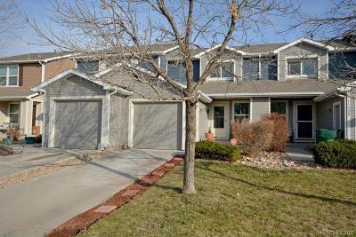 Northglenn Condo/Townhouse Under Contract: 11012 Claude Court
