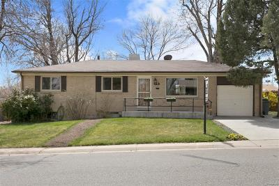 Englewood Single Family Home Under Contract: 3176 West Tufts Avenue