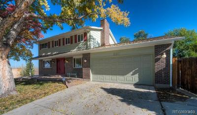 Littleton Single Family Home Active: 881 Altair Drive