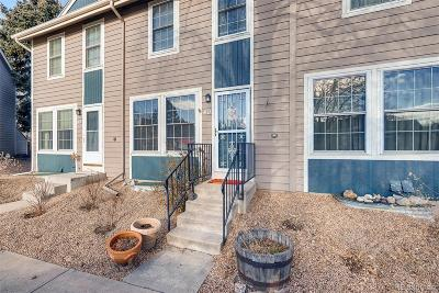 Northglenn Condo/Townhouse Under Contract: 11596 Community Center Drive #40
