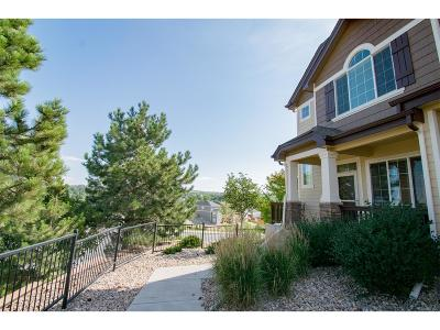 Castle Rock Condo/Townhouse Under Contract: 1266 Royal Troon Drive
