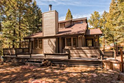 Woodland Park Single Family Home Active: 358 High View Circle